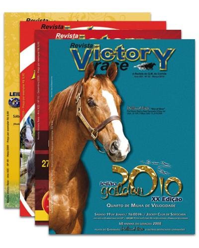 Detalhes do produto Assinatura da Revista Victory Race