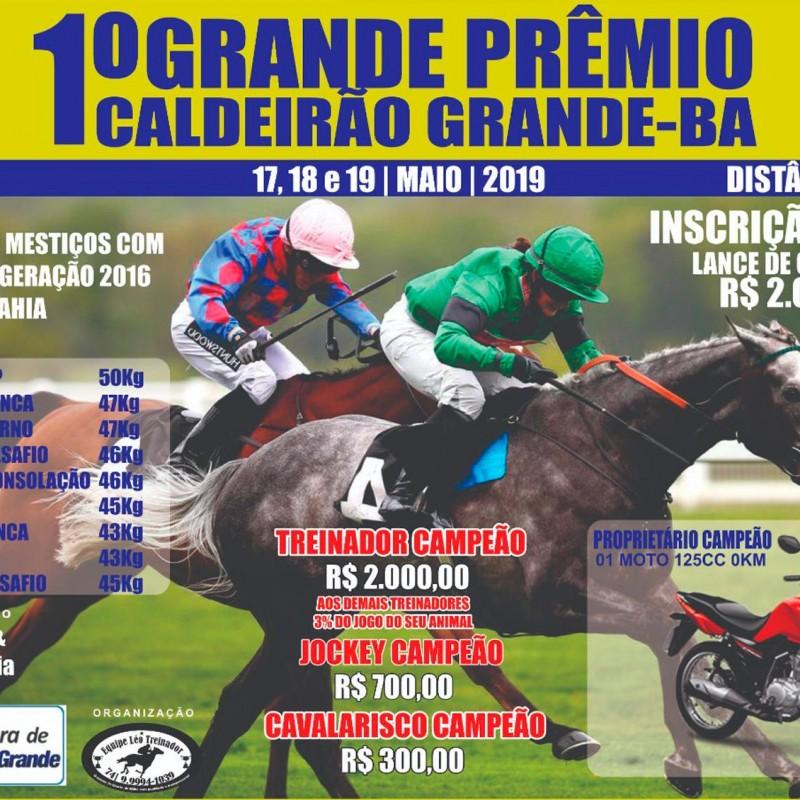 Ler mais sobre 1º GP CALDEIRÃO GRANDE-BA
