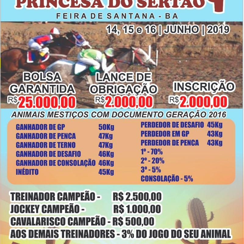 Ler mais sobre 2º GP DA PRINCESA DO SERTÃO - FEIRA DE SANTANA - BA