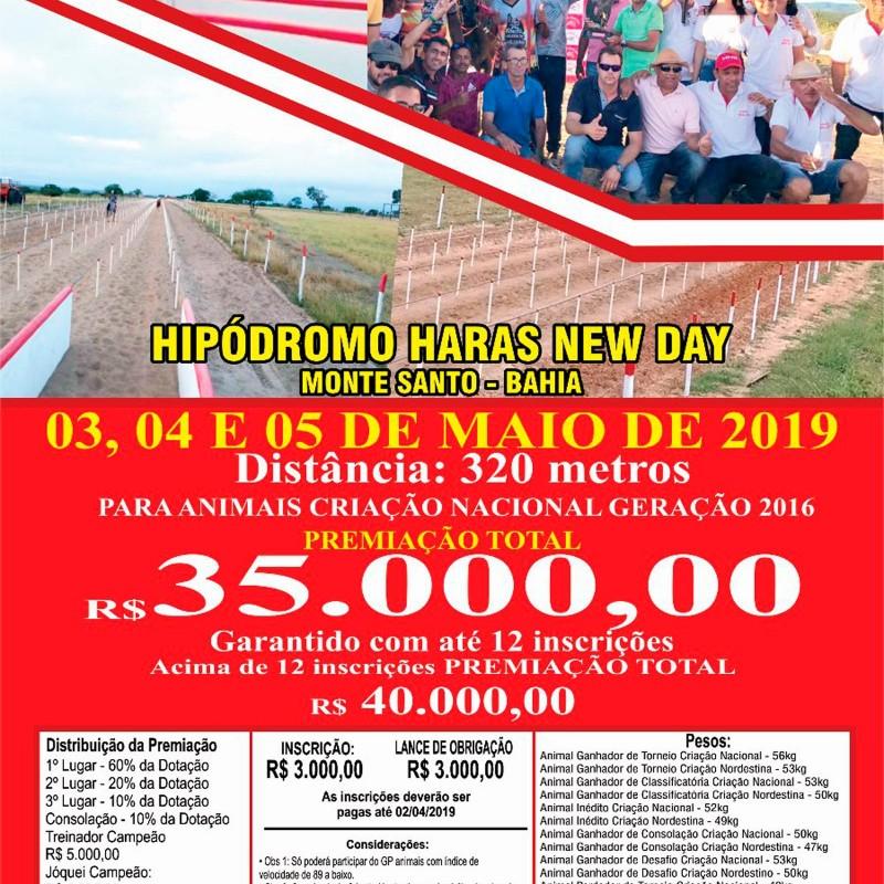 Ler mais sobre III GP PEDRA VERMELHA - HIPÓDROMO HARAS NEW DAY - MONTE SANTO - BA