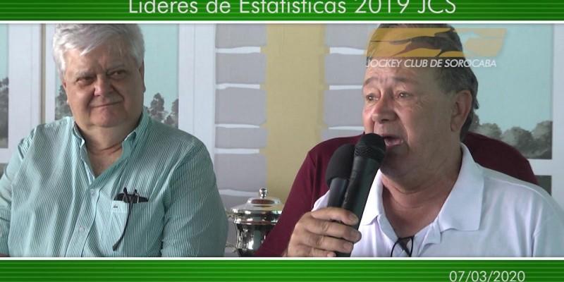 Estatísticas 2019 no Jockey Club de Sorocaba