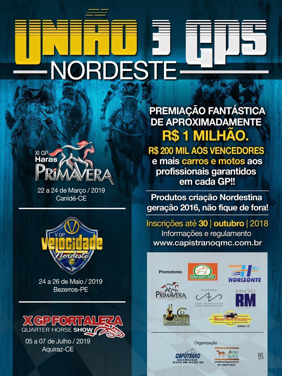 União 3 Gps do Nordeste 2019