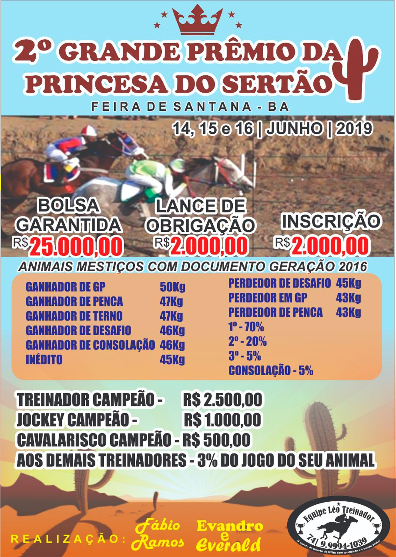 2º GP DA PRINCESA DO SERTÃO - FEIRA DE SANTANA - BA
