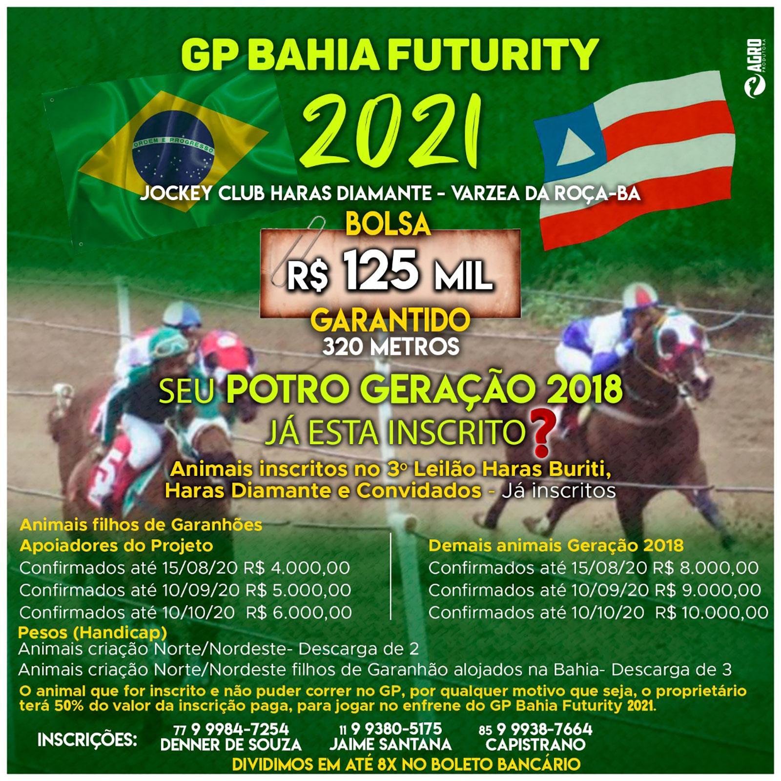 GP BAHIA FUTURITY 2021